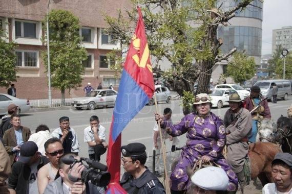 Новости противостояния в Монголии