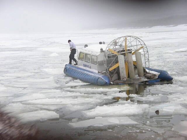 Из-за сбросов Богучанской ГЭС половина Мотыгинского района остается отрезанной о