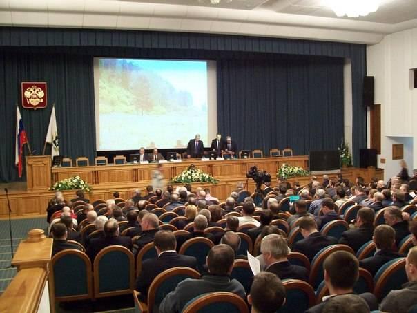 совещание «Концепция стратегии развития охотничьего хозяйства Томской области»