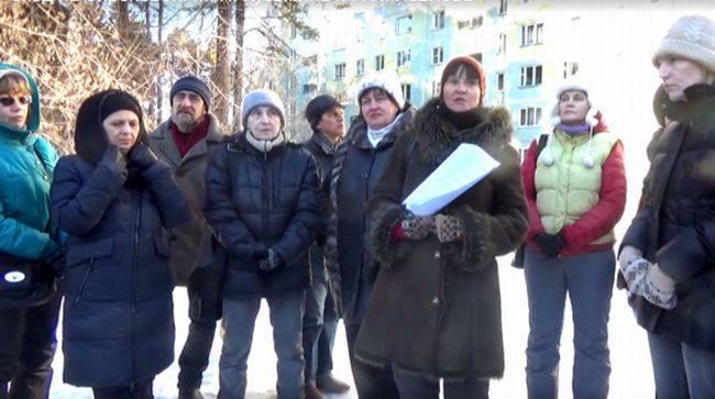 Команда защитников Шлюзовского леса