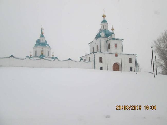 «Красиво как в Сибири»!