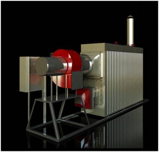Автономная теплогенераторная установка