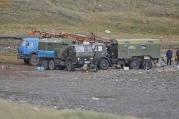 Полевая база Газпрома на плато Укок