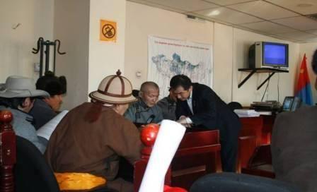 Заседание суда – ОДМРО против Правительства Монголии (из презентации Я.Цэрэнханд