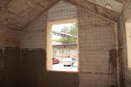 Дом из панелей с соломенным утеплителем, вид изнутри