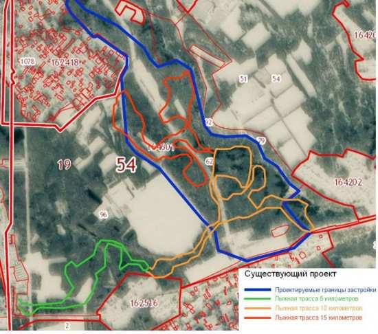 Проект застройки долины реки Камышёвки